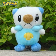 "Pokemon Plush Oshawott Toy Stuffed Animal 5 5"" Nintendo Character Cute Soft Doll 