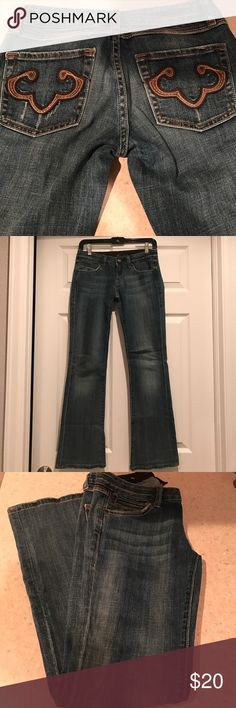 EXPRESS DENIM JEAN Perfect condition. Size 0 30inch length Express Jeans Boot Cut