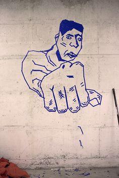 Kunst aus Klebeband  beim Tape Art Workshop anlässlich des illu² Festivals in Freiburg Tape Art, Festivals, Workshop, Duct Tape, Freiburg, Art, Atelier