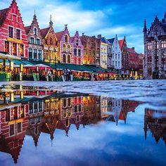 Brugge, Belgium by @pentaxdudes