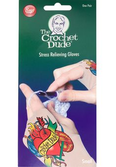 The Crochet Dude Stress Relieving Gloves    #thecrochetdude