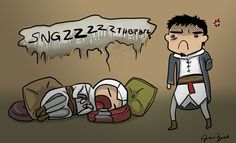 Assassining makes you sleepy by coloristjen.deviantart.com on @DeviantArt