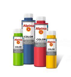 Alpina Voll und Abtönfarbe Wandfarbe (Color)