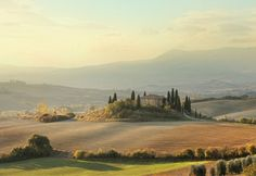 Tuscany, Italy (© Peter Zelel/Vetta/Getty Images) World's Most Beautiful Places