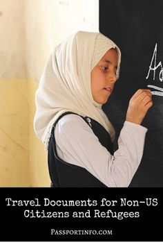 Did you know that the US residents who don't have a passport from their home country can still travel internationally?