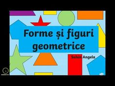 Forme și figuri geometrice. Angela Suhin - YouTube Turn Off, Youtube, Blog, Transportation, Fit, Geometry, Youtubers