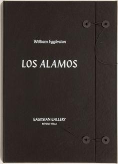 William Eggleston: Los Alamos Catalogue  $100 @ Gagosian SHOP