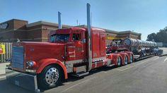 Peterbilt custom 379 heavy haul