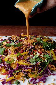 The Best Ever Vegan Pad Thai -