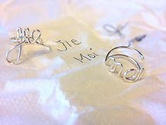 Silver pinyin rings https://www.facebook.com/simplyshapedjewelry