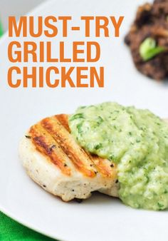 Try this delicious grilled chicken recipe from one of our partners!