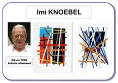 Imi Knoebel - Portrait d'artiste Plus Kindergarten Art Activities, In Kindergarten, Middle School Art, Art School, High School, Imi Knoebel, Montessori Art, Montessori Elementary, Ecole Art