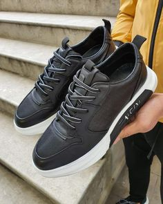 Inner Lining: Calf Skin Lining Shoes Material: Leather Available Size: Heel Height: Package Include: Shoes Gifts: Branded Dust Bag and Box, Shoehorn, Shoeshine, Babet Socks Fashion Shoes, Mens Fashion, Simple Shoes, Shoe Brands, Leather Shoes, Black Shoes, Shoes Sneakers, Lace Up, Dust Bag