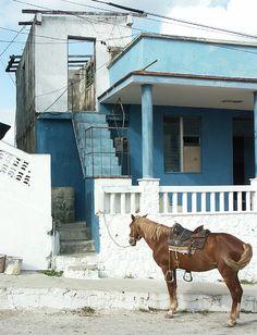 Village Police Station . Cuba