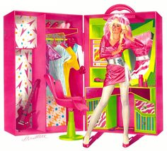 Doll box artwork - Rock Jem