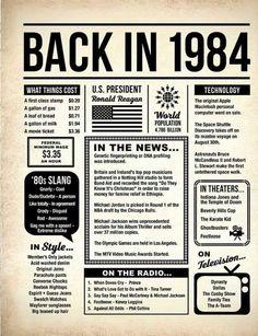 Terug in 1978 DIGITALE poster verjaardag in krantenstijl - Apocalypse Now And Then First Class Stamp, Vintage Newspaper, Newspaper Layout, Little Bit, Last Minute Gifts, Last Minute Birthday Gifts, Childhood Memories, 90s Childhood, Just In Case