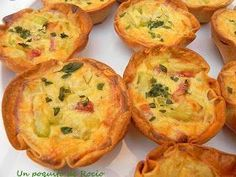new ideas breakfast potatoes bacon Healthy Breakfast Muffins, Breakfast Potatoes, Breakfast Bake, Breakfast Recipes, Empanadas, Mini Quiches, Cooking Time, Cooking Recipes, Spanish Dishes