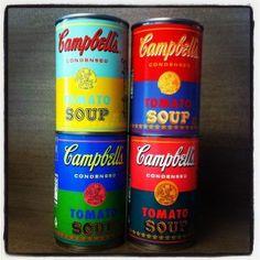 Campbell's celebra una edició especial d'Andy Warhol.