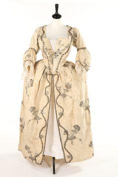 Robe à l'anglaise, 1740′s