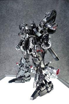 GUNDAM GUY: MG 1/100 Sazabi Ver. Ka - Custom Build