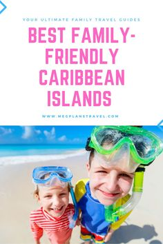 Not all kid-friendly destinations are created equal.  Learn which Caribbean islands are the most safe, engaging, and fun for kids. And don't worry - the adults will love them, too! #Caribbeantravel #familytravel #luxuryfamilytravel #caribbeanwithkids El Yunque Rainforest, Kid Friendly Vacations, Grace Bay Beach, Airplane Travel, Beaches In The World, All Kids, Sandy Beaches, Don't Worry, Trip Planning