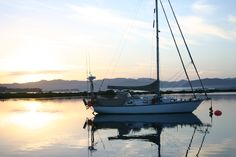 Sunset at Whangapoua Harbour - situated on the east coat of the Coromandel Peninsula, just 25 minutes drive over from the township of Coromandel