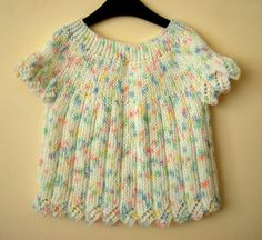 SALE  25 off Knit Baby Cardigan Colorful Baby Vest by bysweetmom, $26.25
