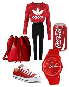 """Cute and comfortable"" by daniellelewis42 on Polyvore featuring adidas Originals, River Island, Converse, Gabriella Rocha and Swatch"
