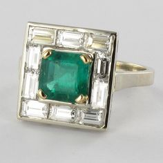Smart Saphir Et Diamant 3 Tier Bague Grappe Matching In Colour Gemstone