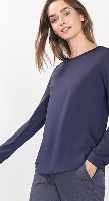 Flowing top w ribbed details Maternity Fashion, Kids Outfits, Bell Sleeve Top, Blouse, Clothes, Shopping, Collection, Tops, Women