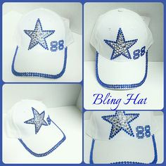 Bling Dallas Cowboys hat