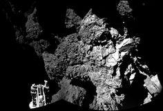 15 Mejores fotos de la sonda Rosetta el día de su despedida.
