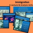 $4 This PowerPoint introduces the topic of immigration in the late 1800s into the turn of the century.  With pictures, charts, and statistics, student...