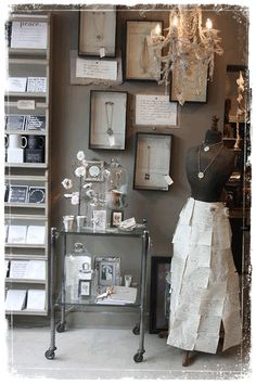 Love the way these necklaces are displayed. bedroom or wall in closet wall could look great with a free framed necklaces..easy to access..