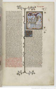 Grandes Chroniques de France Fol 417r, 1375-1380, Henri du Trévou & Raoulet d'Orléans