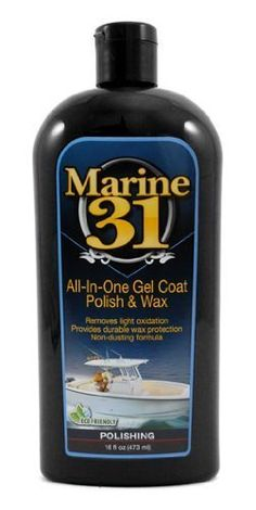Marine 31 All in One Gel Coat Polish  Wax >>> Want to know more, click on the image.