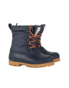 BNWT Little Joules Boys Girls Unisex Muck Boots JNR CARRICK Blue Conker | eBay