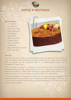 Ma Baker, Cake Recipes, Dessert Recipes, Rum Cake, South African Recipes, Xmas Food, Sweet Cakes, Coffee Cake, Amazing Cakes