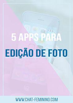 Para deixar seu instagram mais bonito, demos a dica de 5 apps para edição de fotos.