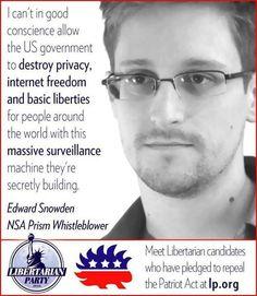 Edward Snowden-Great American hero.
