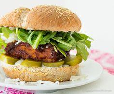 bbq tempeh sandwich