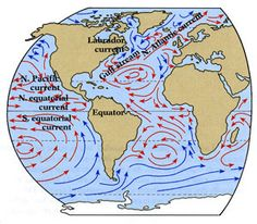 Ocean currents ocean current free maps and ocean ocean currents gumiabroncs Images