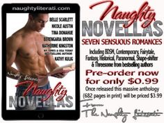 Naughty and HOT #NAUGHTYNOVELLAS the Newest Collection by the Naughty Literati