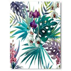 Botanical Costa Rica, Canvas Art