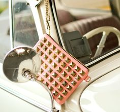 studded clutch by @tipilly