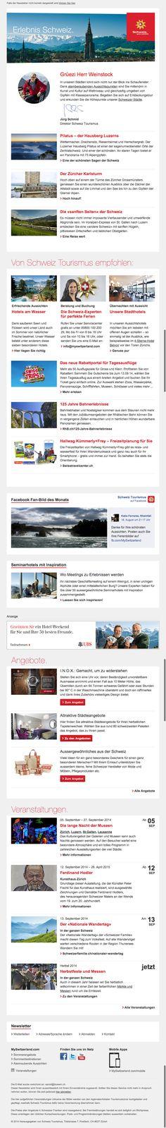 Schweiz Tourimus - mySwitzerland.com