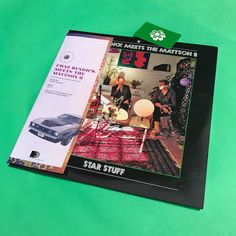 I Vinyl You: Chaz Bundick meets The Mattson 2 – Star Stuff - #ChazBundickMeetsTheMattson2  #Vinyl #IVinylYou #RevistaMarvin #Marvin #ArtDirection #AlbumCover #Photography #ChazBundick #StarStuff