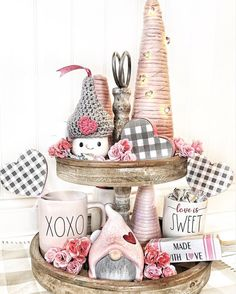 Style a tiered tray for Valentine's Day with this guide, plus 16 inspiring home decor examples