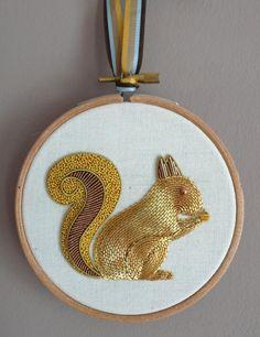 Metalwork embroidery .. Royal School Of Needlework