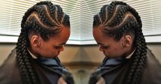 Banana braids are exclusive African girls' hairs styles. Why are they called banana? This cornrow hairstyle is the typical Ghana weaving hairstyle but with